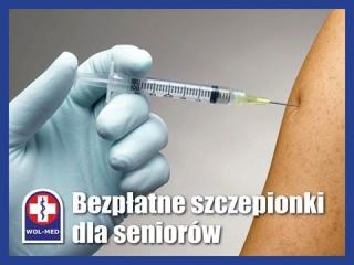 Bezpłatne szczepionki dla seniorów